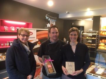 """HIB-label """"Handmade in Belgium"""" voor bakkerij Bossuyt"""